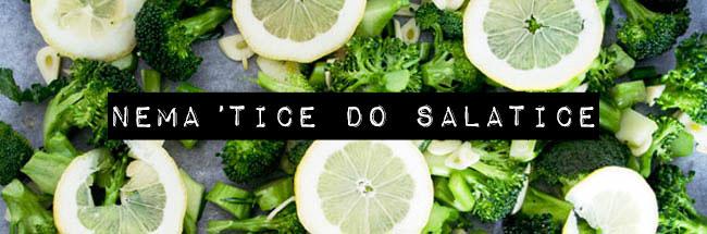 Nema tice do salatice